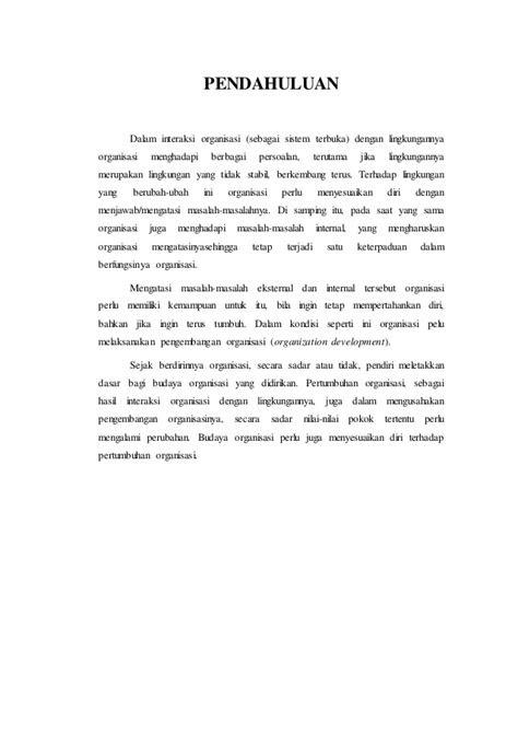 Pio pengembangan dan budaya organisasi - Cimut