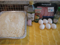 frozen killer rice and ingredients for arroz frito