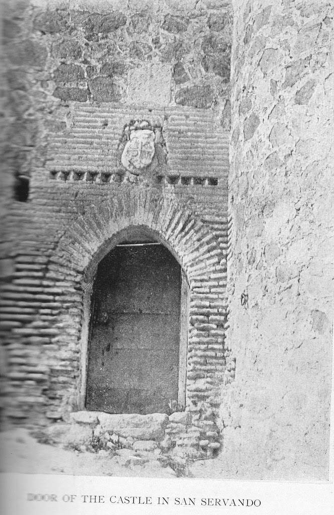 Puerta del Castillo de San Servando en el siglo XIX