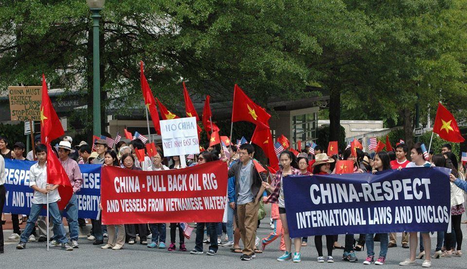 biểu tình yêu nước, tuần hành, Washington