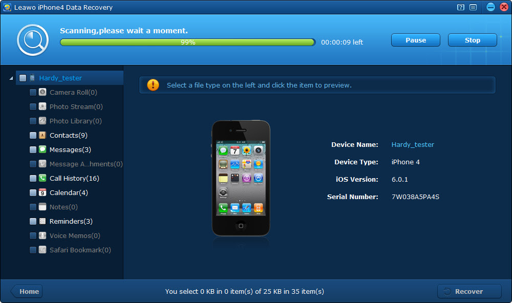 Leawo iOS Data Recovery Getting Started  Leawo Support Center