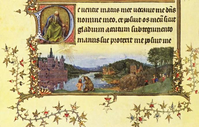 van Eyck, Taufe Christi, Turin-Mailänder Studenbuch