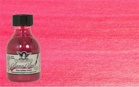Glimmer Glaze Paint - Paradise Pink