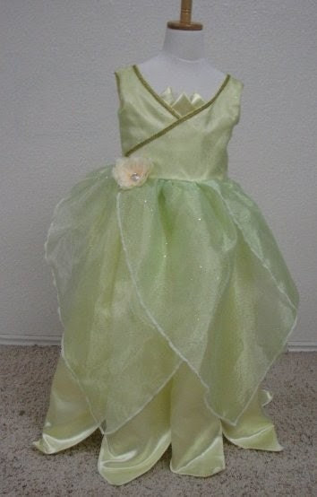 Adorable Frog Princess Costume Ballgown