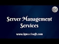 kmwebsoft server management services