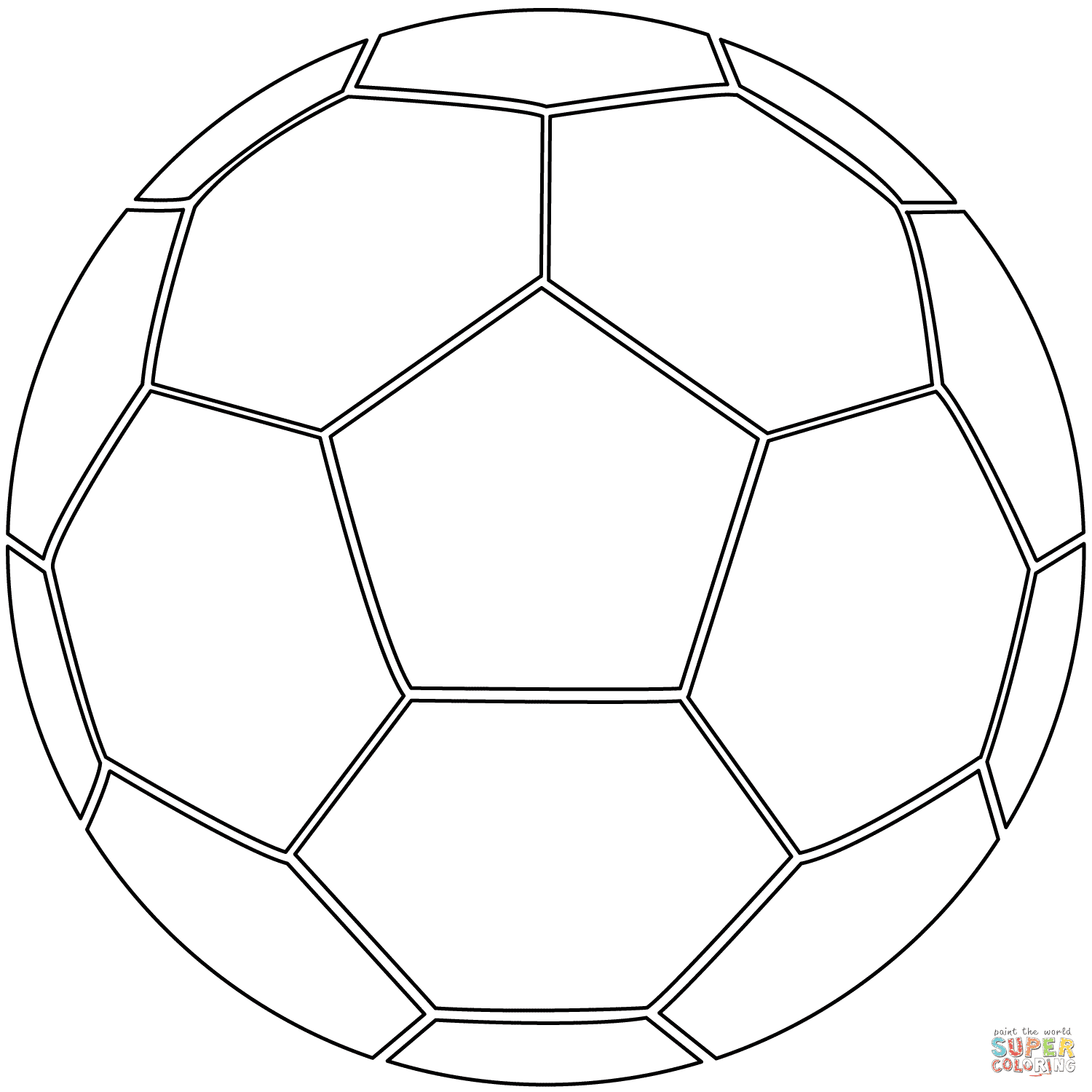 er sur la Ballon de football coloriages