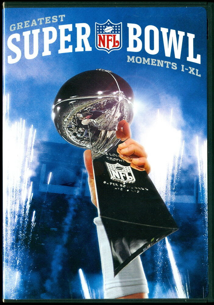 NFL FOOTBALL GREATEST SUPER BOWL MOMENTS DVD IXL PACKERS COWBOYS STEELERS MIAMI 12569839977 eBay