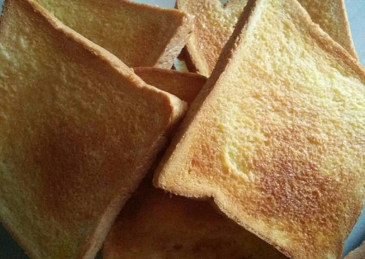 Resep Roti Kering Sederhana Dari Kharifa Eyana Khan Al Islams