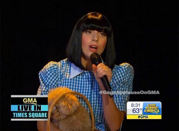 Lady GaGa : GMA (09/2013) photo lady-gaga-gma-oz-5.jpg