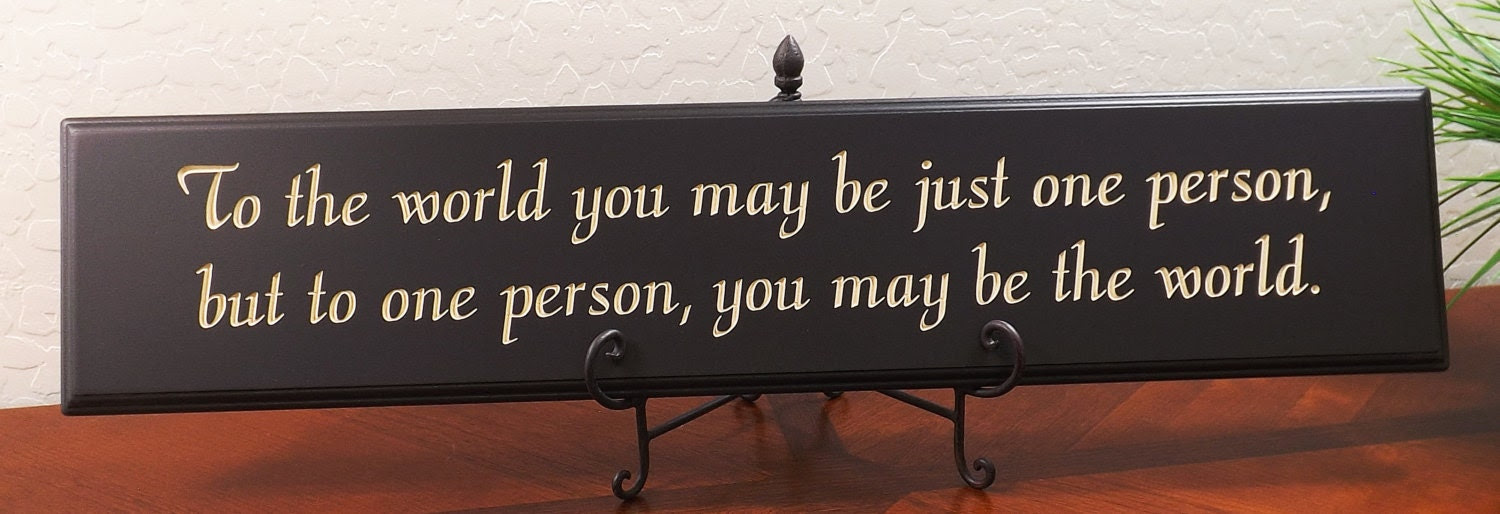 Decorative Wood Sign Plaque Wall Decor with by TimberCreekDesign
