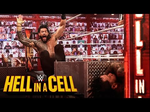 Roman Reigns breaks down over brutality to Jey Uso: WWE Hell in a Cell 2020 (WWE Network Exclusive)