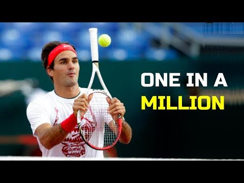 "Roger Federer - Top 10 ""One In A Million"" Shots"