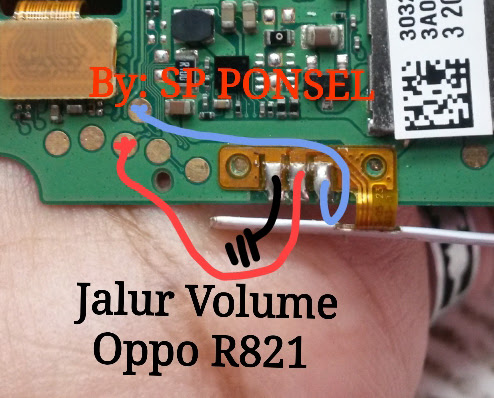 Oppo Find Muse R821 Volume Up Down Keys Not Working Problem Solution Jumpers