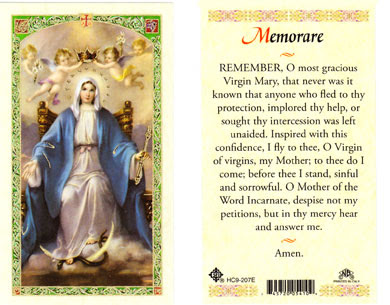 Image result for memorare