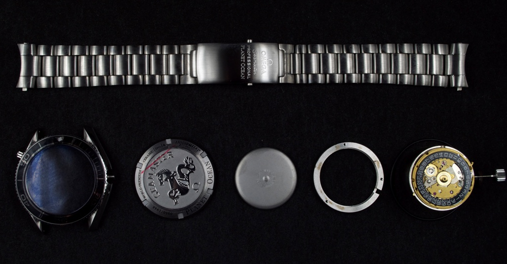 Omega 1948 Watch Components