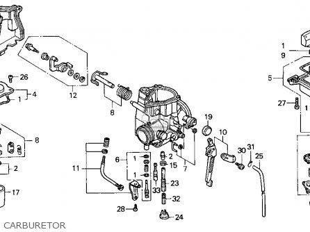 1994 Honda 300 Carburetor Diagram Wiring Schematic 92 Chevy Lumina Wiring Diagram Bege Wiring Diagram