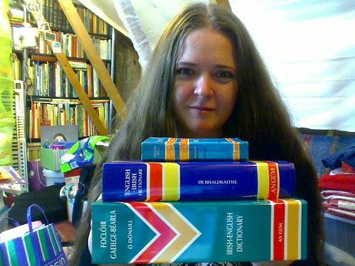 My Irish dictionaries
