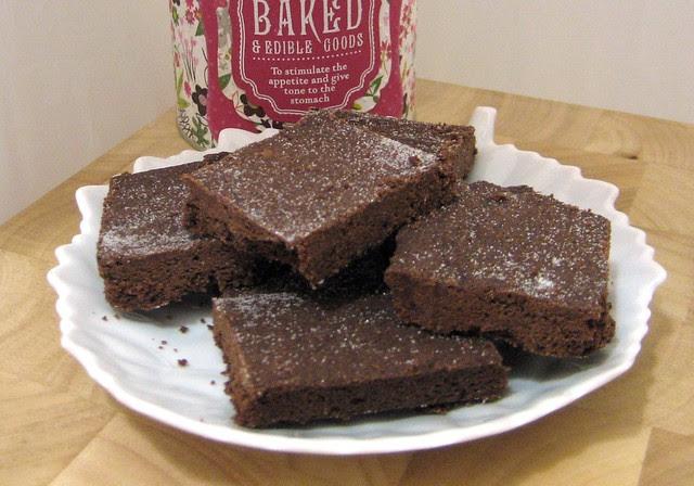 Chocolate Shortbread plate