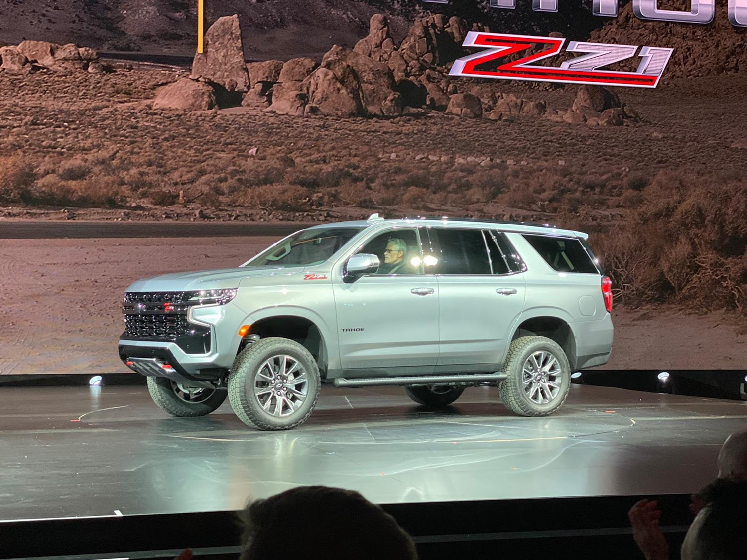 the first photos of the 2021 chevrolet tahoe  gm authority