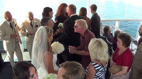 Electra Cruises Wedding on Athena Yacht in Newport Beach