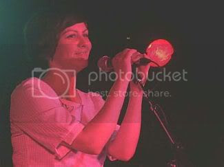 Traceyanne of Camera Obscura @ Horseshoe Tavern: photo by Mike Ligon