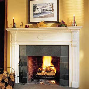 Easy Mantel Makeover | Fireplaces | Interior | This Old House