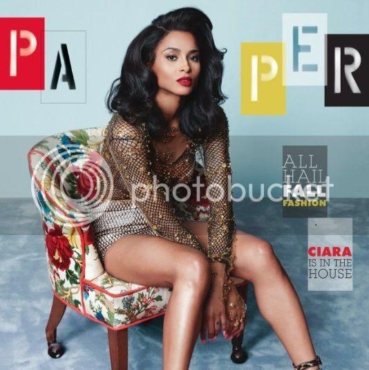 Ciara twerks, strikes pose & serves face for Paper magazine!