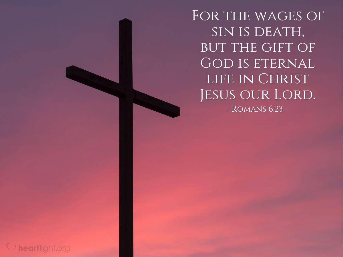 Illustration of Romans 6:23