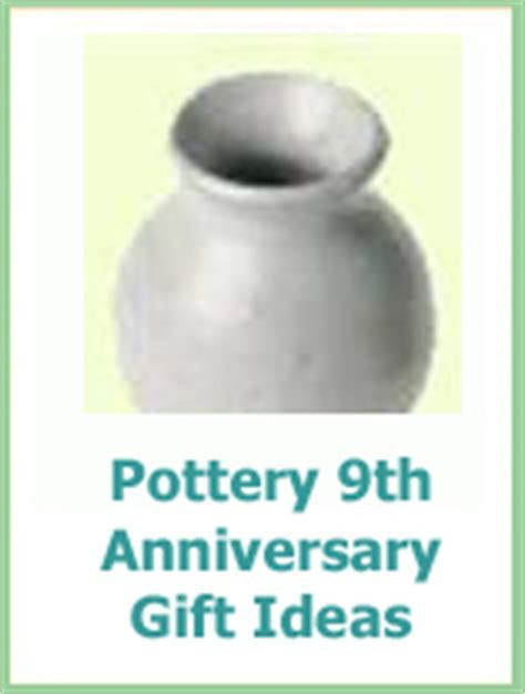 9th Wedding Anniversary Traditional Gifts Pottery And Willow