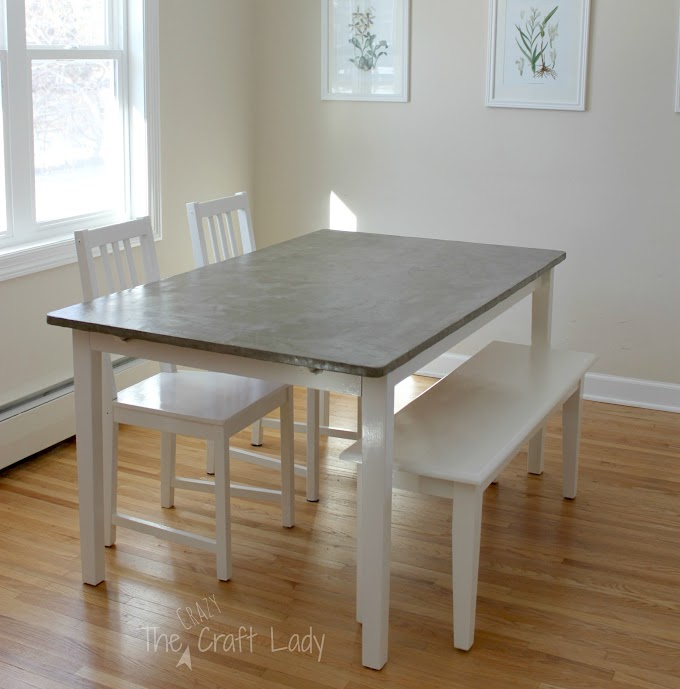 Cool Diy Dining Room Table Makeover images