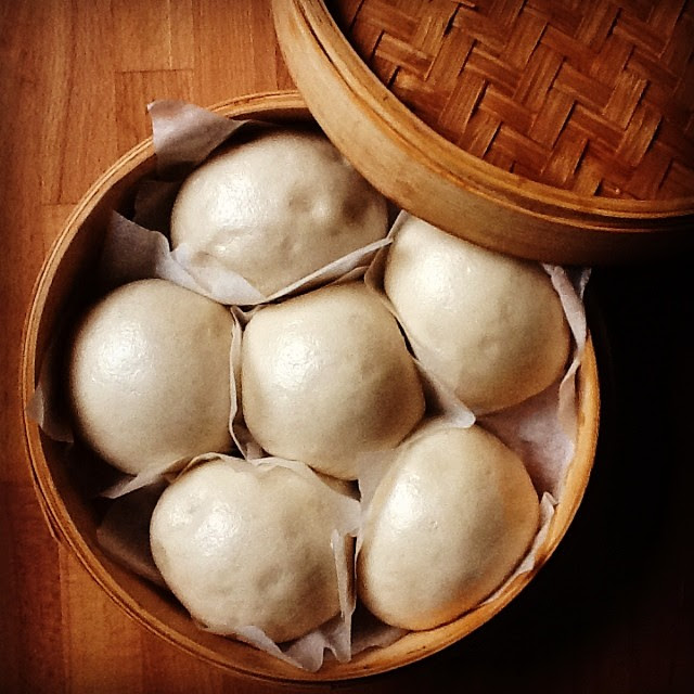 #mantou post cottura #pane #Cina #food #foodblogger #instapic #vapore