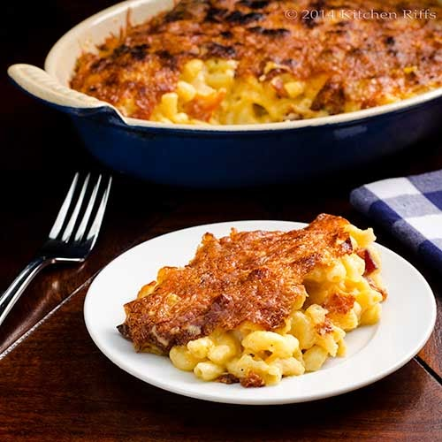 the steps involved in making cheese and macaroni dish Slow cooker bacon macaroni and cheese ~ with two  tons of rich cheese sauce and a secret ingredient making it  mac and cheese recipe by just a dish.