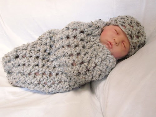 Chunky Baby Cocoon Set