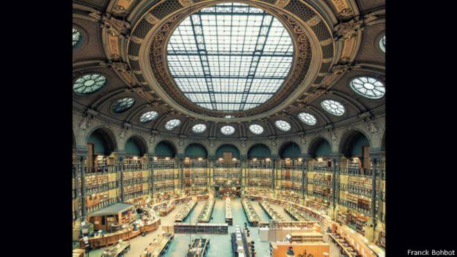 Biblioteca Nacional da França, em Paris