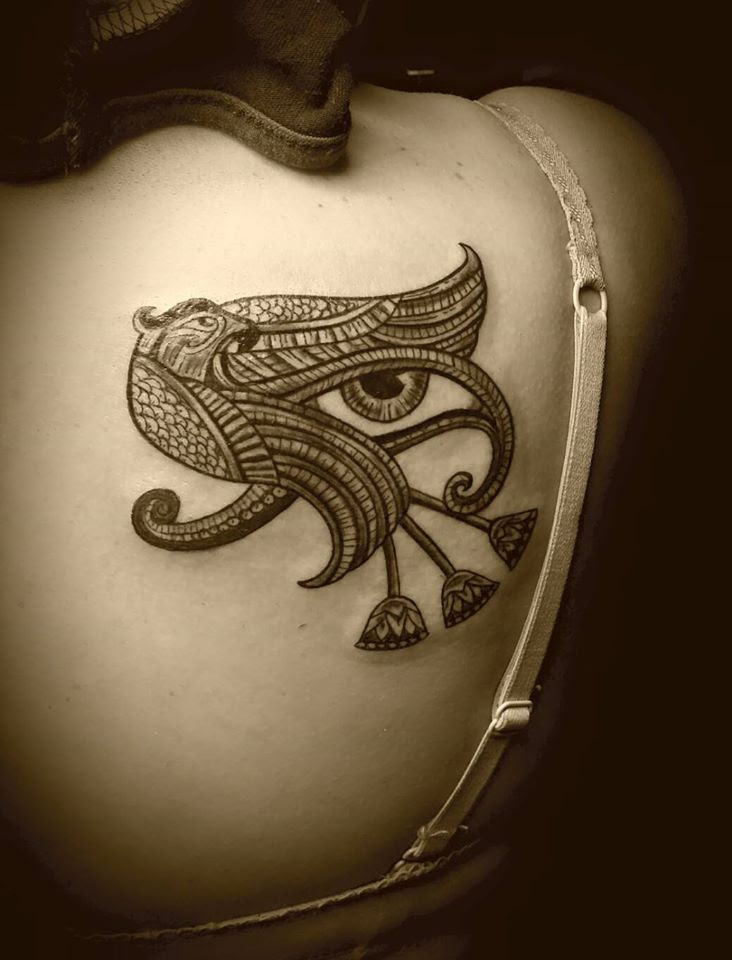 Tattoo Ojo De Horus Gattoostudio