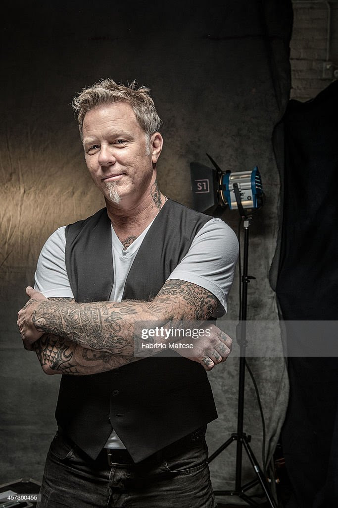 James Hetfield, The Hollywood Reporter, September 2013 Getty Images