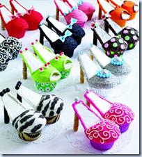 High Heeled Cupcakes