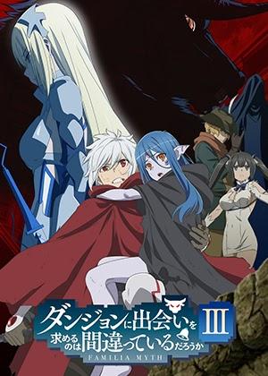 Dungeon ni Deai wo Motomeru no wa Machigatteiru Darou ka III [12/12] [HD] [Sub Español] [MEGA]