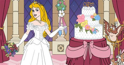 Aurora's Wedding Day Dress Up Game   Disney Princess