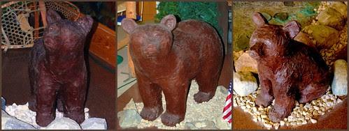 Maine Bears at Len Libby Chcolates