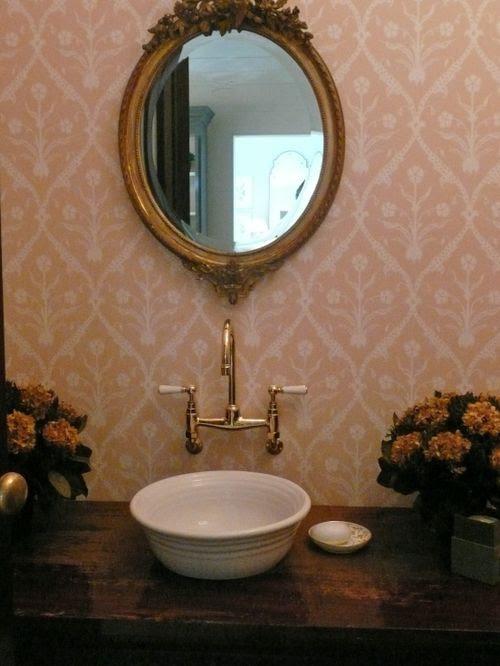 powder room design - part one - Velvet & Linen