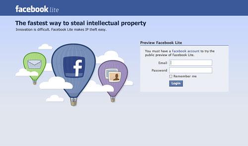 facebook lite no quiz no game