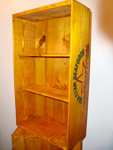 Fish Crate Shelves