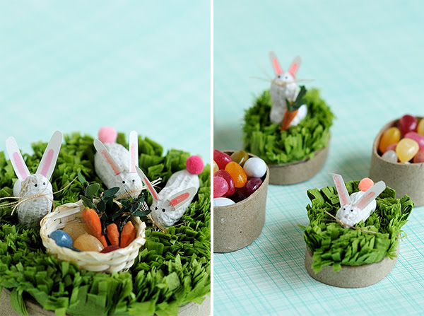 Peanut Bunny Favors | Oh Happy Day!