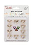 Chibitronics Tropical LED Circuit Stickers - Megapack, 10 Pink, 10 Orange, and 10 Green