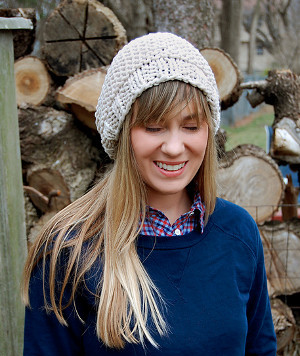 How to Knit a Slouchy Beanie