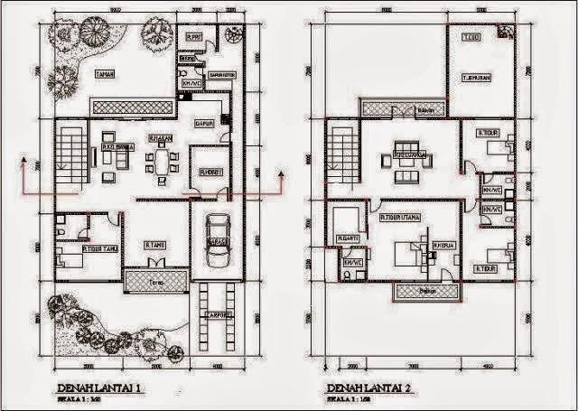 68 Gambar Rumah Minimalis 2 Lantai Ukuran 7x12 Gratis