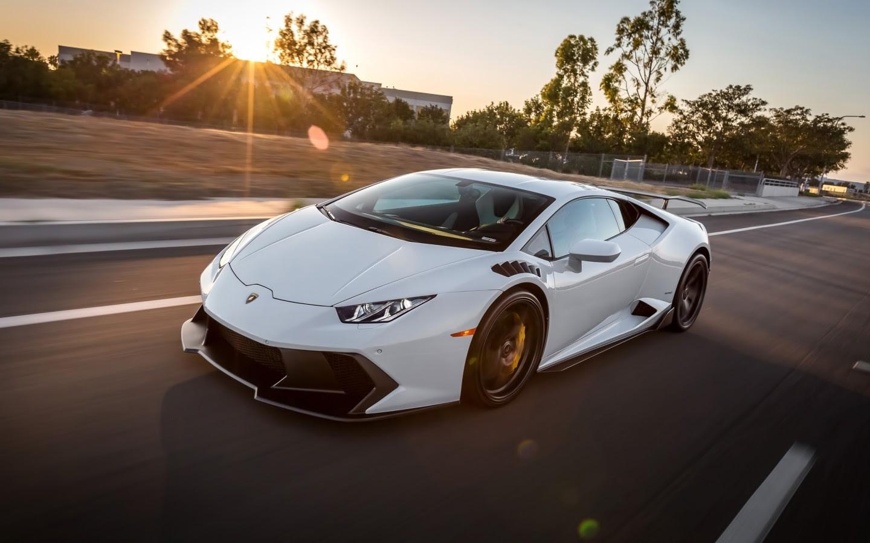 2016 Vorsteiner Lamborghini Huracan Novara White Wallpaper ...