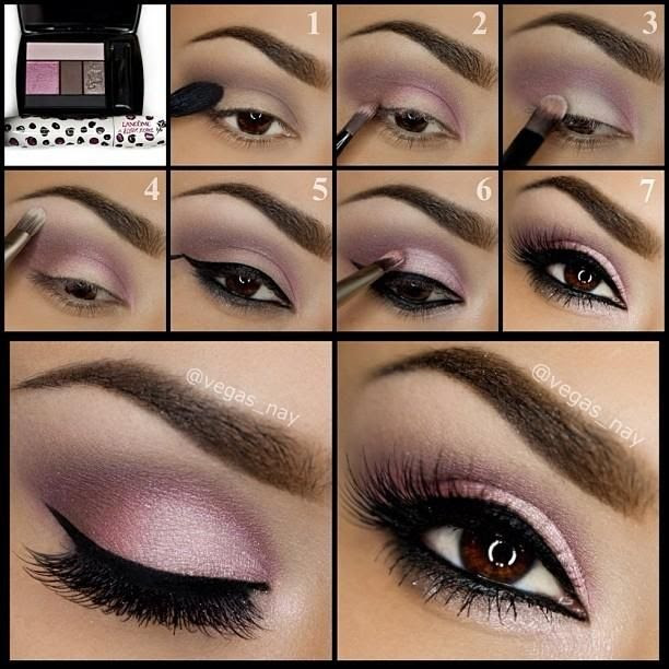 Pretty Makeup Tutorial For Brown Eyes