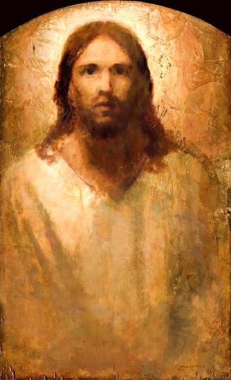 Christ Portrait (2007) by J. Kirk Richards